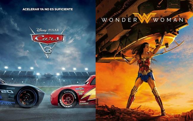 Cars 3 y Wonder Woman