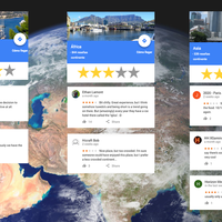 ¿Qué nota le pondrías a Europa? Google Maps ahora permite puntuar continentes y la gente ya está troleando