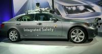 Lexus presenta su automóvil que se maneja solo