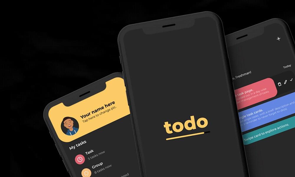 'Todo' es un gestor de tareas sencillo, elegante y completamente gratis para tu Android