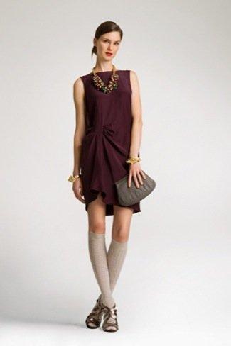 Lookbook Uterque Navidad 2010: vestido corto