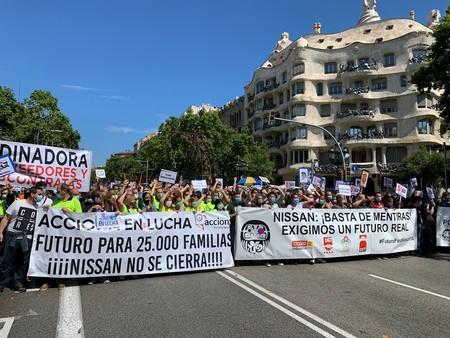 Nissan Barcelona Protesta 2