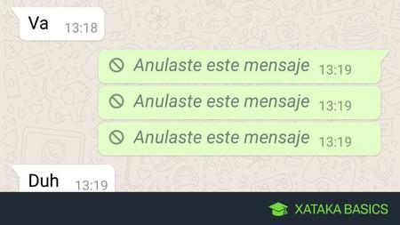 Cómo ver los mensajes que te mandan por WhatsApp en Android eliminados por otra persona