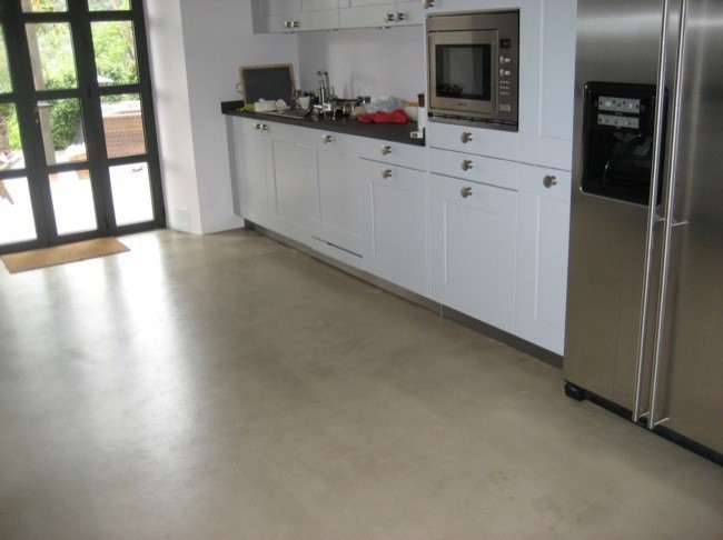 Pavimentos minerales totalmente renovados en menos de 72 - Suelos de cocinas ...