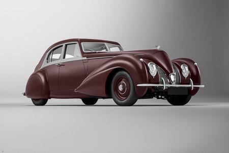 El eslabón perdido de Crewe: un Bentley Corniche único de 1939, reconstruido al completo por Mulliner