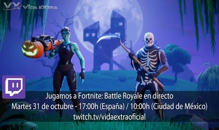 Streaming de Fortnite: Battle Royale a las 17:00h (las 10:00h en Ciudad de México) [finalizado]