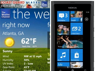 The Weather Channel mejora en Windows Phone... pero sólo para Lumia