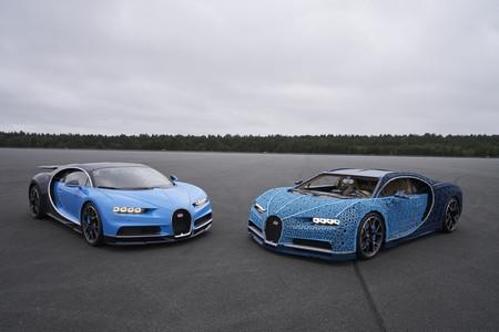 2,304 motores, un millón de piezas de LEGO y sólo 5.3 hp: alucina con este Bugatti Chiron capaz de moverse