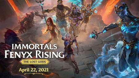 Immortals Fenyx Rising recibirá Dioses Perdidos, su último DLC, la semana que viene y cambiará la jugabilidad con una nueva perspectiva