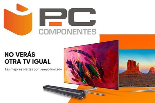 Semana de ofertas en televisores en PcComponentes: 8 televisores y 2 barras de sonido a precios rebajados