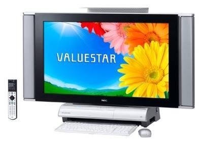 Valuestar de NEC: TV y PC todo en uno