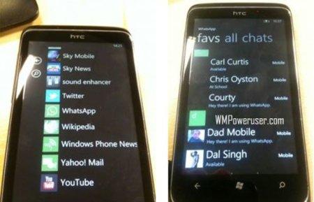 WhatsApp para Windows Phone 7, primeras imágenes