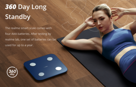 Realme también tiene una báscula conectada y bombilla inteligente que podremos controlar desde el móvil