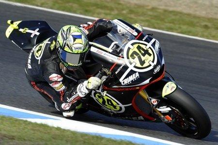 Toni Elías, flamante ganador del mundial de Moto2