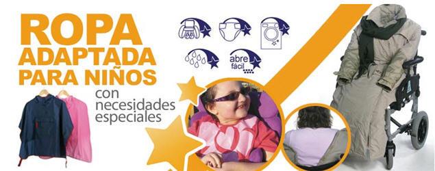 Ropa adaptada niños necesidades especiales