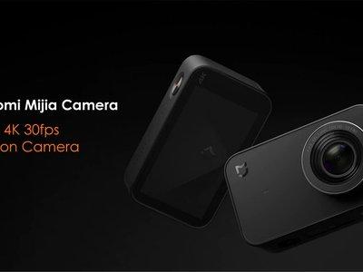 Cámara de acción Xiaomi Mi Action 4K por 68 euros con este cupón de descuento