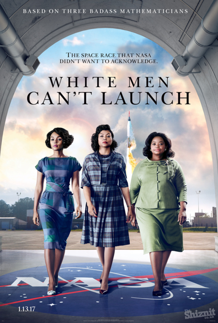Honest Posters Oscars Hidden Figures
