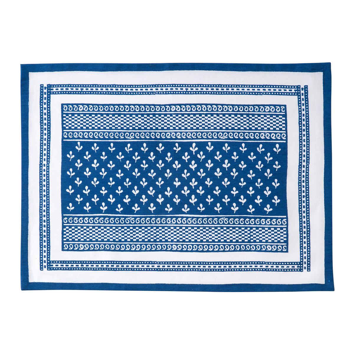 Mantel individual azul Block I El Corte Inglés