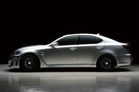 Lexus IS-F por Wald International, mala leche en versión nipona