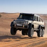 Dolorpasión: Un Mercedes-Benz G63 AMG 6x6 que gustaba descansar llantas arriba