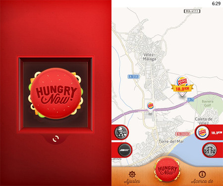 Hungry Now Fast Food Locator
