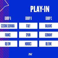Suerte dispar para los españoles en el sorteo del Play-In de la European Masters