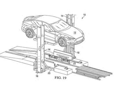 Cambiar la batería de un Tesla en menos de 15 minutos es el próximo objetivo de la compañía, según esta patente