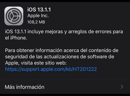 ¡Nueva actualización! Apple libera iOS 13.1.1 y soluciona el problema de teclado de terceros