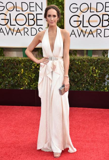 Louise Roe, esa estilista que no necesita ayuda para vestir en los Globos de Oro 2015