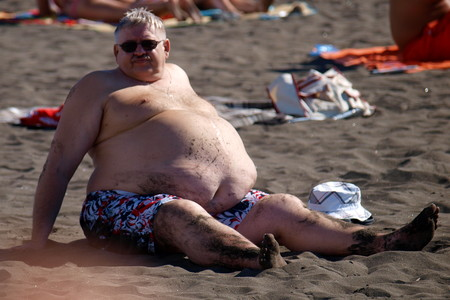At The Beach Male Abdominal Obesity