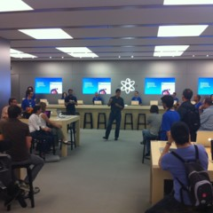 Foto 30 de 93 de la galería inauguracion-apple-store-la-maquinista en Applesfera