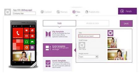 Microsoft rediseña Windows Phone App Studio y le añade funcionalidades