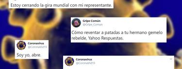 La cuenta meme del coronavirus en Twitter explota con más de 275.000 seguidores en apenas un par de días