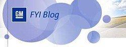 FYI, el nuevo blog de General Motors