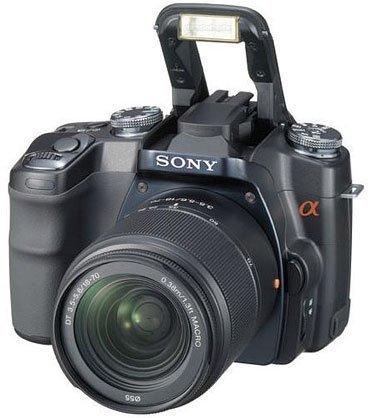 Sony Alpha 100, posibles características
