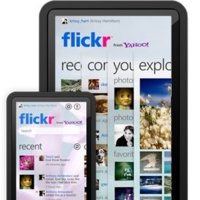 Flickr app para dispositivos móviles equipados con Windows 7, lanzamiento oficial