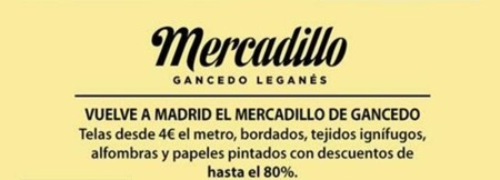 Los mejores mercadillos outlets y pop up stores dise o for Gancedo outlet madrid