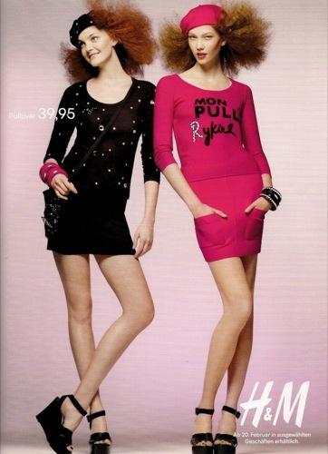 Colección exclusiva de Sonia Rykiel para HM, Primavera-Verano 2010. Lolitas