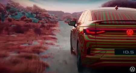 Volkswagen Id5 Teaser 4