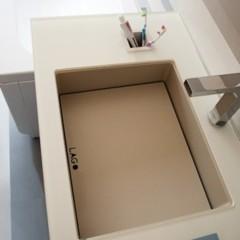 Foto 3 de 4 de la galería los-nuevos-lavabos-de-acero-de-lago en Decoesfera