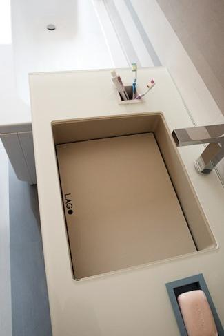 Foto de Los nuevos lavabos de acero de Lago (3/4)