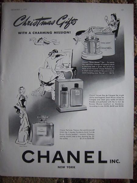Chanel No. 5 - 1939