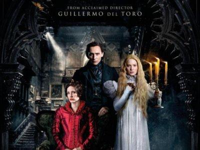 'La cumbre escarlata', póster final del romance de terror dirigido por Guillermo del Toro