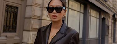 El total look de piel es la tendencia más buscada del otoño: 13 looks vistos en las calles de Nueva York que vienen cargados de cuero