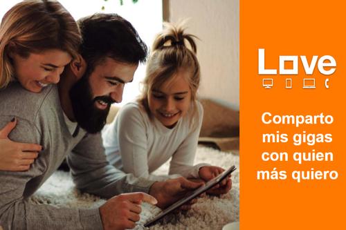 Orange renueva sus tarifas Love: personalizables, con hasta 50 GB y Netflix de regalo de bienvenida
