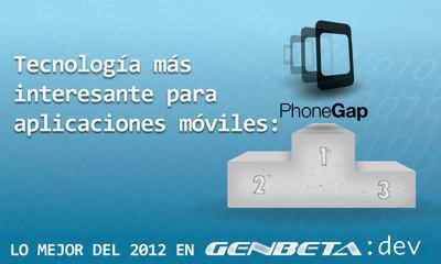 Lo mejor del 2012 para Genbeta Dev: tecnología más interesante para aplicaciones móviles