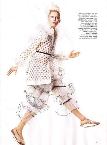 Los vestidos de moda para esta Primavera-Verano 2010. Marc Jacobs