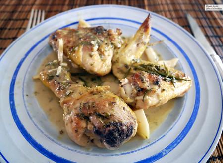 Pollo al ajillo al estilo de Mosca's: receta italocriolla tan sabrosa como sencilla