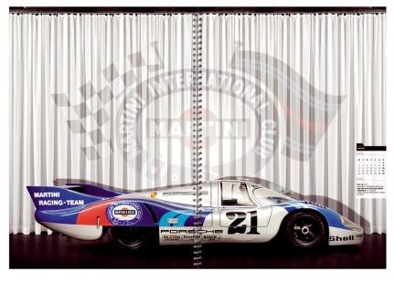 Calendarios oficiales Porsche 2008
