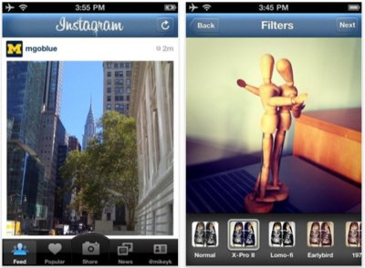 Instagram, comparte y crea fotografías desde tu iPhone e iPod touch